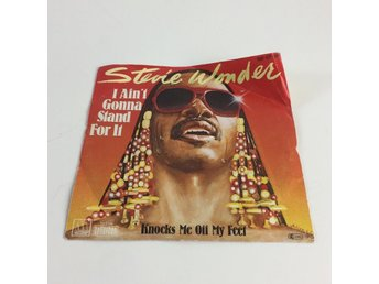 LP-Skivor, Strl: 100 07 060, Stevie Wonder - I Ain't Gonna Stand For It