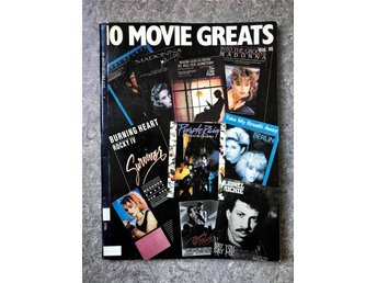 Movie Greats 1986 Vol. III noter Prince Madonna Berlin