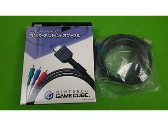 Nintendo Gamecube Component Kabel I ORIGINAL BOX cable Game Cube