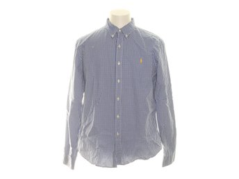 Polo Ralph Lauren, Buttondown-skjorta, Strl: XL, Slim fit, Blå/Vit