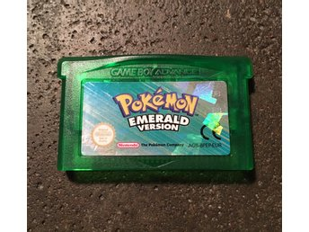 GBA - Pokémon Emerald Version - EUR - Pokemon
