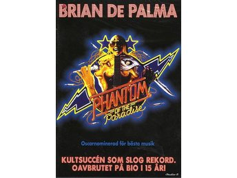 Phantom of the Paradise (1974) Brian De Palma med Paul Williams, William Finley