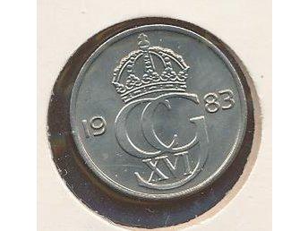 1983 25 öre Carl XVI se bild - Västra Frölunda - 1983 25 öre Carl XVI se bild - Västra Frölunda