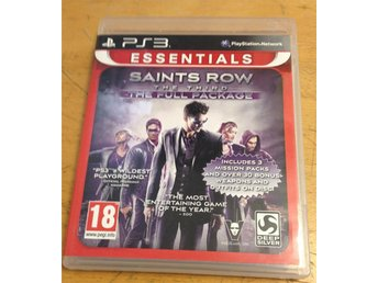 Saints Row The Third The Full Package PS3 Playstation 3