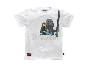 LEGO STAR WARS, T-SHIRT ANAKIN SKYWALKER, VIT (140)