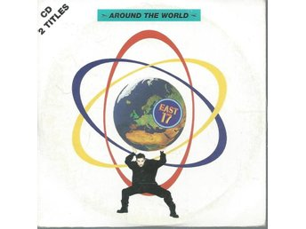 EAST 17 - AROUND THE WORLD   (CD MAXI/SINGLE )