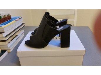 Sandaler med klack /högklackade skor från NLY shoes, svarta, storlek 37 - Västerås - Sandaler med klack /högklackade skor från NLY shoes, svarta, storlek 37 - Västerås
