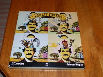 Pang i Bygget Fawlty Towers: The Complete Set (Laserdisc)