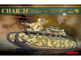 Meng Model 1/35 French Super Heavy Tank Char 2C