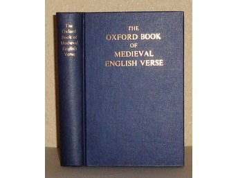 The Oxford Book of Medieval English Verse.