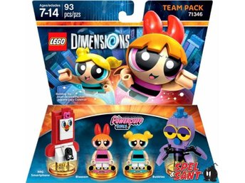 Lego Dimensions Power Puff Girls Team Pack 71346