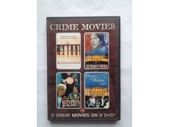 DVD -  Crime Movies 4 filmer 2 dvd