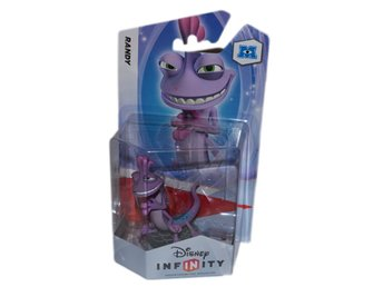 Randy från Monsters Inc. Disney Infinity Figur Helt Ny Inplastad Ovanlig Se Hit!