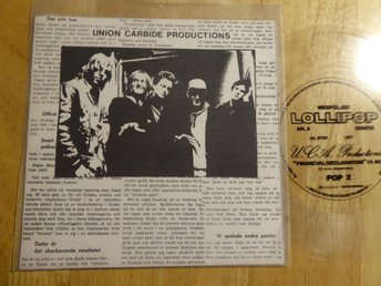 UNION CARBIDE PROD  (Ebbot Sountrack of our lives - Financial Declaration Flexi