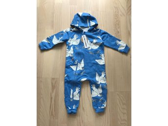 Mini Rodini onesie duves 80/86 NWT