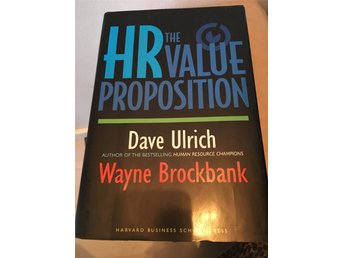 HR Value Proposition (MBA kurs literatur)