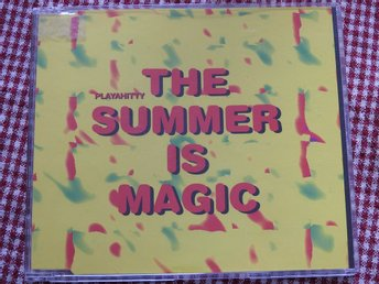 Playahitty - The Summer is Magic CD Single 1994 Euro House 90tal