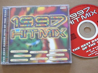 1997 Hit Mix CD Prodigy,Paradisio,Corona,Rosie Gaines,DJ Quicksilver,Red 5