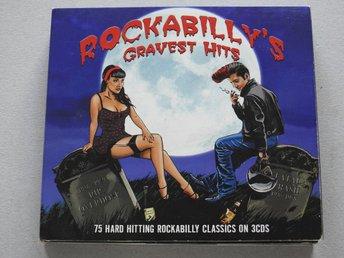 Javascript är inaktiverat. - Nynäshamn - Rockabilly's Greatest Hits 3CD 5 Hard-hitting classics1. All By Myself - Johnny Burnette2. The Shape I'm In - Johnny Restivo3. All The Time - Sleepy LaBeef4. Jungle Rock - Hank Mizell5. That's All Right - Elvis Presley6. Get With It - Charlie - Nynäshamn