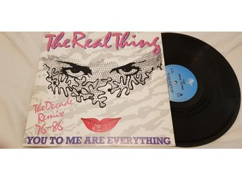 Real Thing, The - You To Me Are Everything (Remix) 12'' Maxi