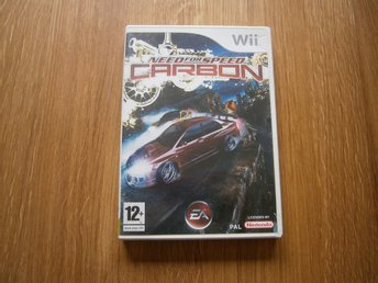Need for Speed carbon - Wii (Komplett!)