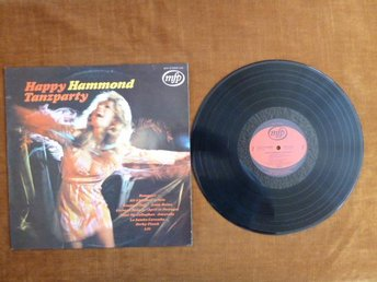 HAPPY-HAMMOND-TANZPARTY,   LP, LP-SKIVA