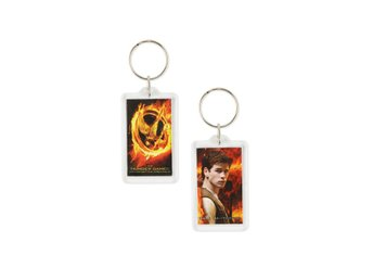 "Hunger Games Movie Keychain Lucite ""Gale"""