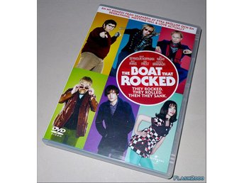 The Boat that Rocked - DVD svensk text - Helsingborg - The Boat that Rocked - DVD svensk text - Helsingborg