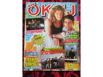 OKEJ 2/1989 Samantha Fox, Europe, Trance Dance, Tom Cruise