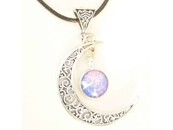 Rådjur måne halsband / Deer moon necklace