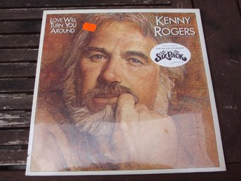 KENNY ROGERS - LOVE WILL TURN YOU AROUND LP SEALED 1982