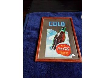 Coca cola spegel. - Kävlinge - Coca cola spegel. - Kävlinge