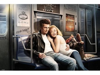 **Poster Marilyn Monroe and James Dean**