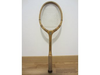 Franskt retro tennisracket - Théo Remy Golden Arrow