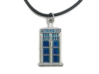 Choker Doctor Who Tardis Police Box Rem