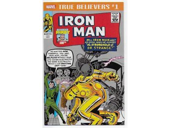 True Believers: Kirby 100th - Iron Man # 1 NM Ny Import