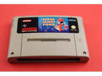 SUPER JAMES POND till Super Nintendo SNES