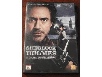 Sherlock Holmes: A Game of Shadows DVD Jude Law, Robert Downey Jr.