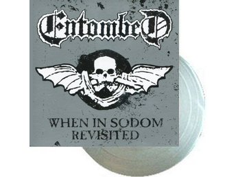 "Entombed -When in Sodom 7"" silver vinyl and artwork ltd 475"