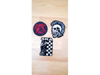 Punk Patches tygmärken!