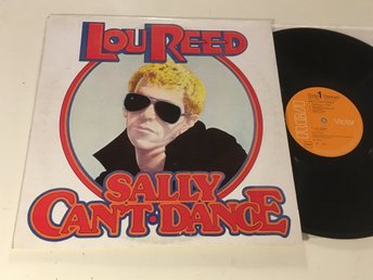 LOU REED sally can't dance LP -74 Ita RCA CPL1 0611