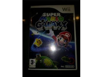 WII SPEL SUPER MARIO GALAXY