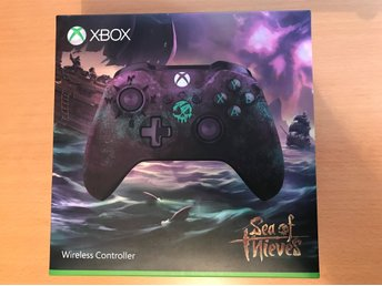 Xbox ONE Handkontroll Sea of Thieves Limited Edition ink ovanlig kod till spelet