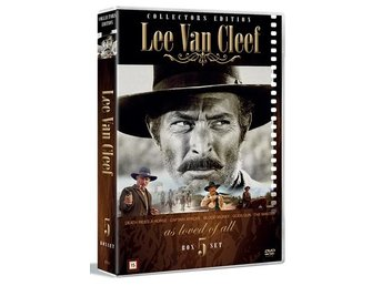Lee Van Cleef collection - 5 filmer (5 DVD)