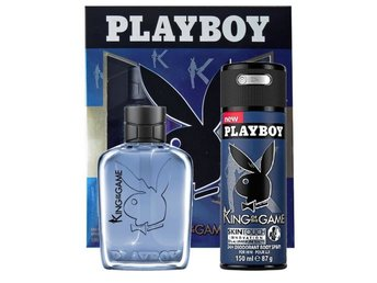 Giftset Playboy King Of The Game Edt 60ml + DSP 150ml
