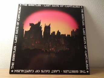 "Bristles ""Last days of capitalism"" Hardcore Deluxe lp punk"