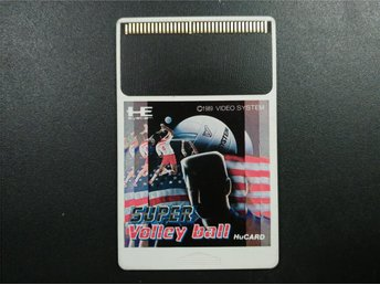 Super Volley Ball  till PC-Engine HU-Card