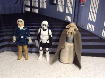 Star Wars 3 st figurer