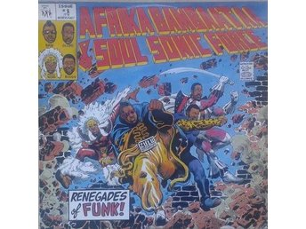 Afrika Bambaataa And Soulsonic Force title* Renegades Of Funk!* Electro, Hip-Hop