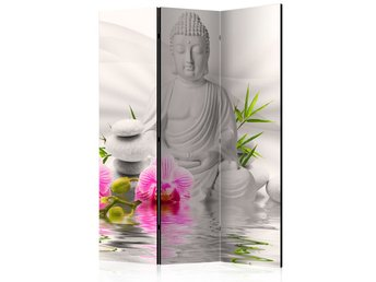 Rumsavdelare - Buddha and Orchids Room Dividers 135x172